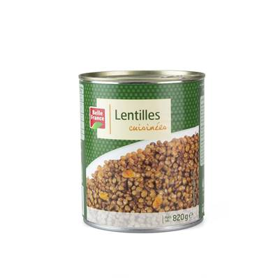 Tinned Puy Lentils