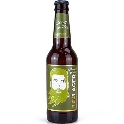 Charlie Well's Dry Hopped Lager (4.7%)