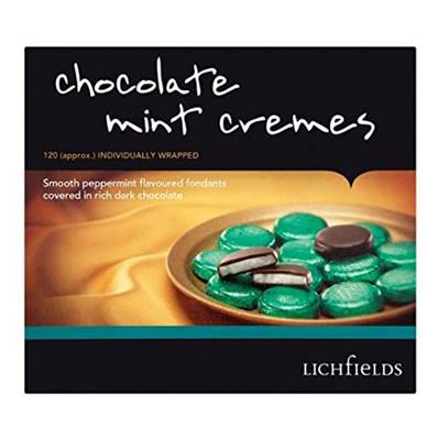 Chocolate Mint Cremes (Dinner Mints)