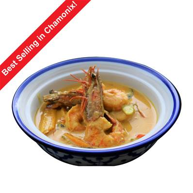 Su's Cuisine Prawn Yellow Thai Curry