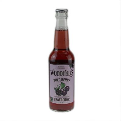 Woodhalls Wild Berry Craft Cider (4%)