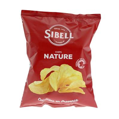 Sibell Ready Salted Crisps