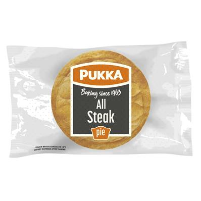 Pukka Pie Large All Steak (BOX)