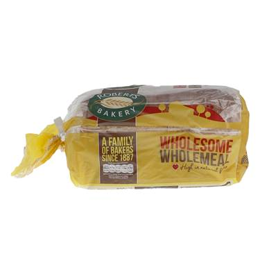Roberts Medium Sliced Wholemeal Bread